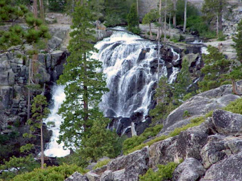 EAGLE FALLS, EMERALD BAY, LAKE TAHOE
