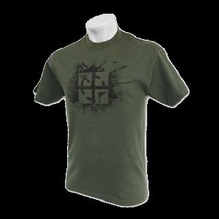 Yeşil Geocaching Tişört [Giyim]