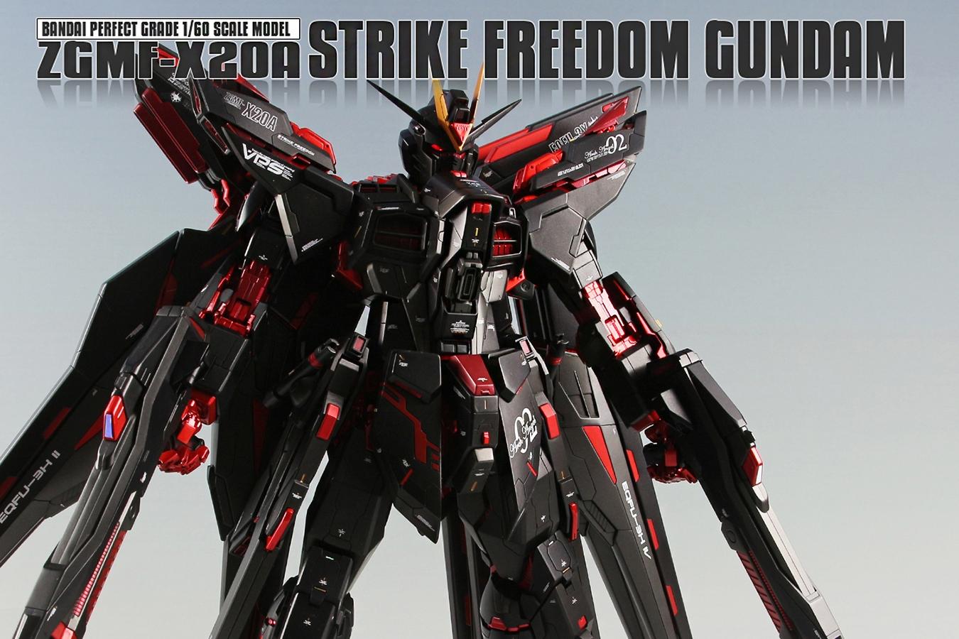 Custom Build: PG 1/60 Strike Freedom Gundam [Coca Cola ...