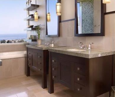 Ba os modernos decoraci n ba os para ambientes peque os for Decoracion para ambientes chicos