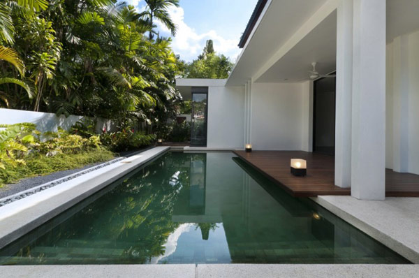 House sits in Kuala Lumpur