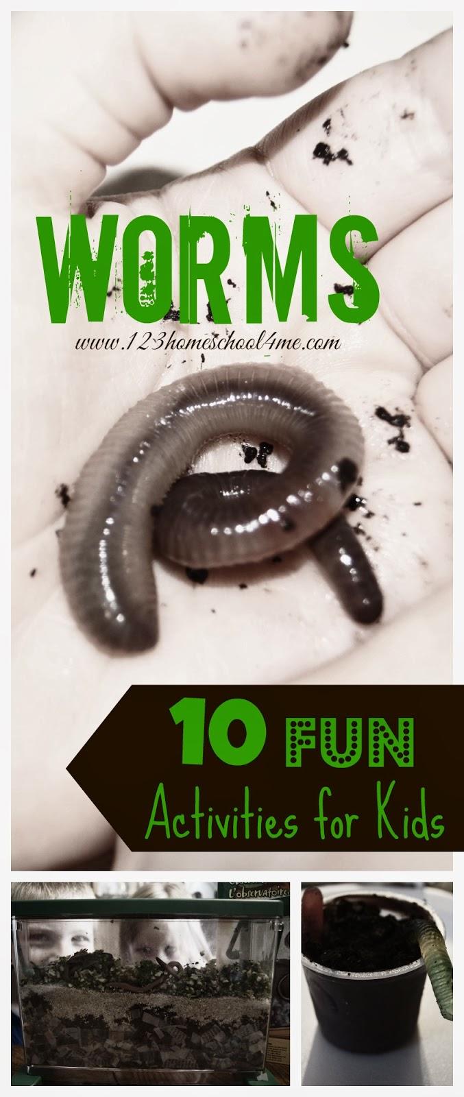 I is for Inchworm Preschool Unit