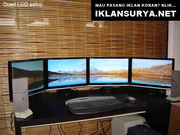 Markas Komputer Unik, LCD Panorama View