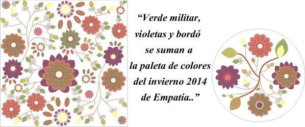 Estampas Empatía otoño invierno 2014. Colores de moda invierno 2014.