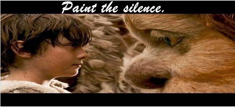 Paint the Silence.