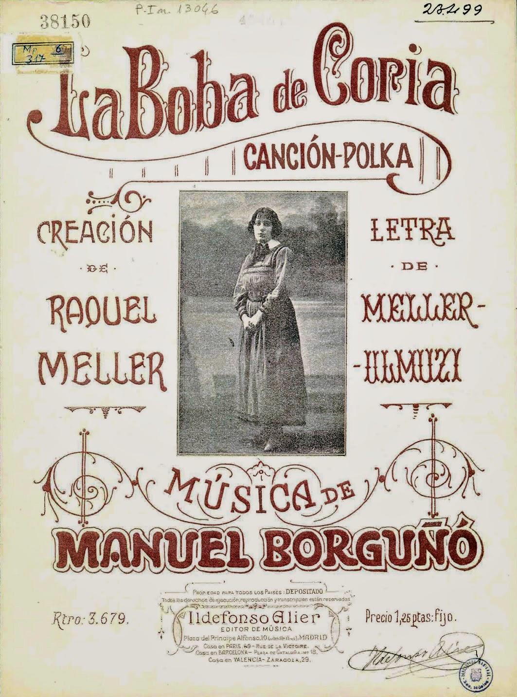 Una Polka de Manel para la linda Raquel
