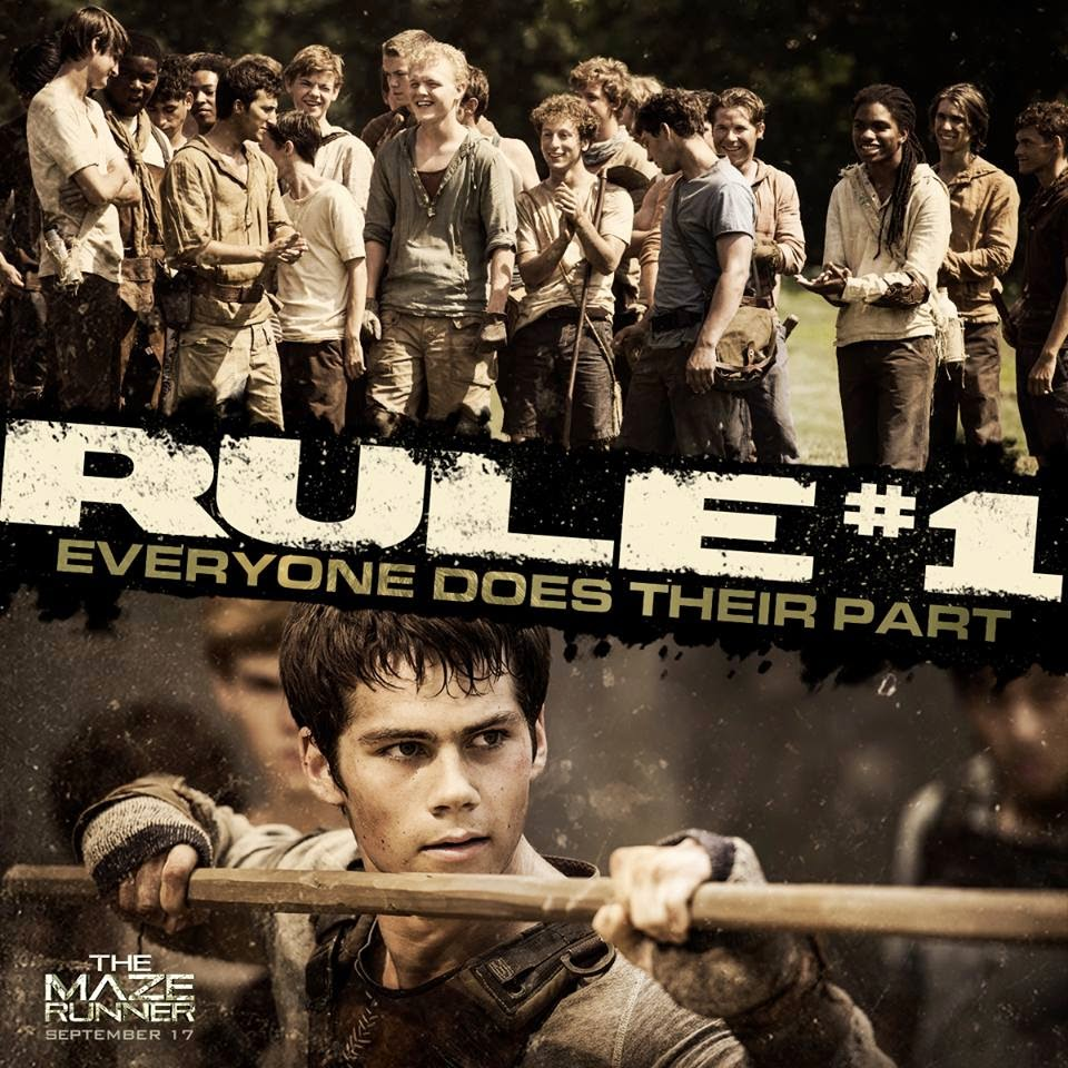 The Maze Runner Still2 Rule1