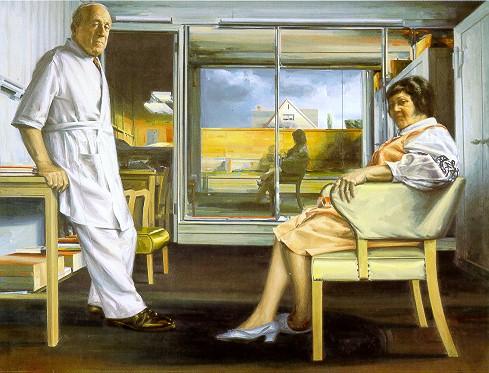 Super La Quête de Perceval: Sidney Goodman, peintre américain PD62