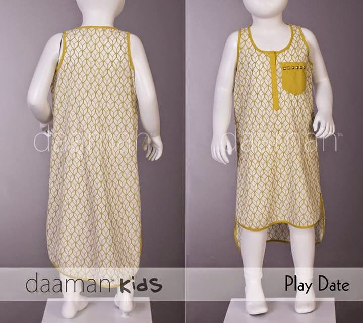 Daaman Eid Collection for Kids 2014