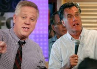 Glenn Beck and Mitt Romney