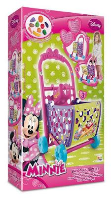 JUGUETES - DISNEY Minnie Mouse - Carrito de la Compra  Producto Oficial 2015 | IMC Toys 181724 | A partir de 3 años  Comprar en Amazon