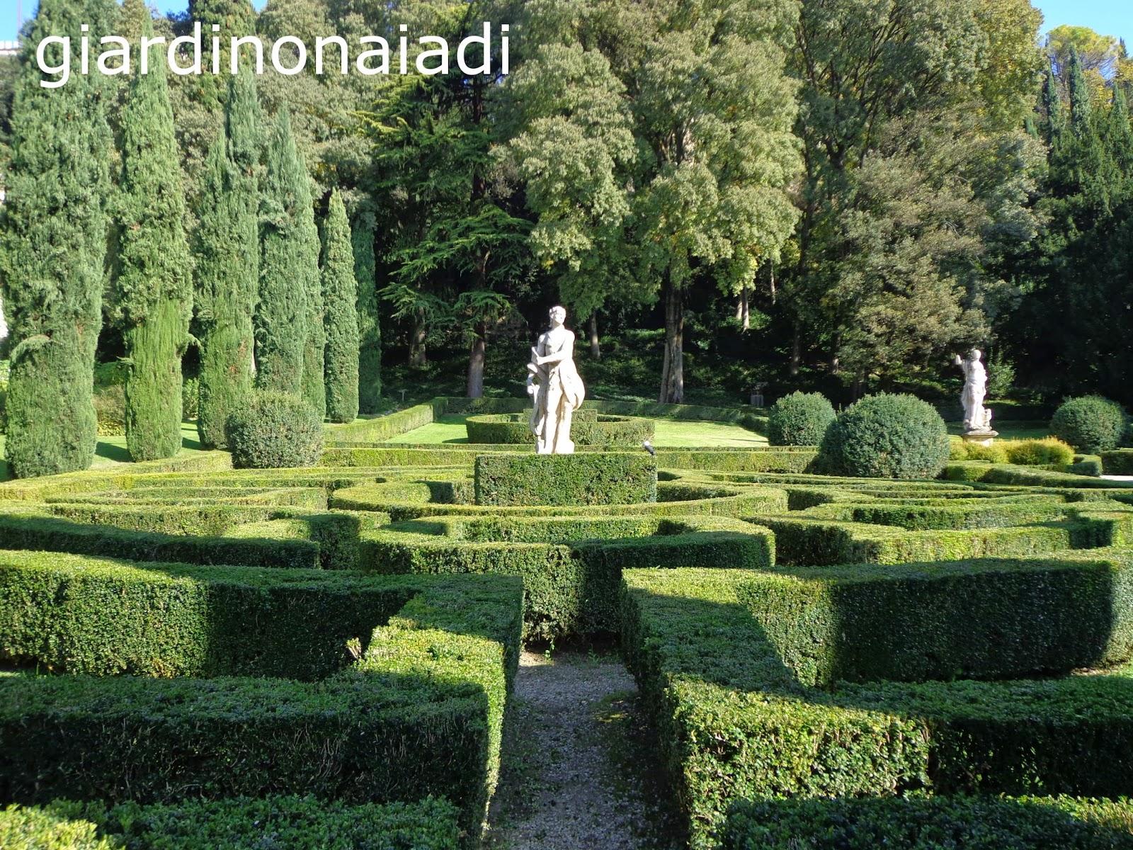 Il giardino delle naiadi giardino giusti verde ed arte - Arte e giardino ...