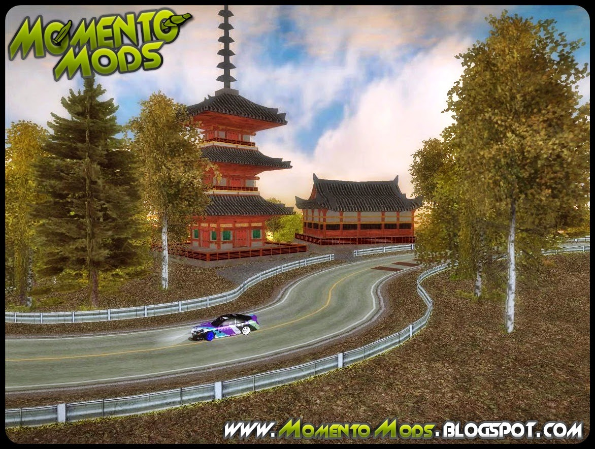 GTA SA - Pista De Drift Okutama Mountain Trail