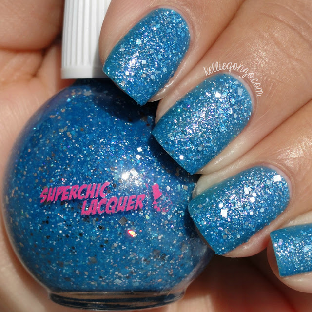 SuperChic Lacquer Captured Teardrop