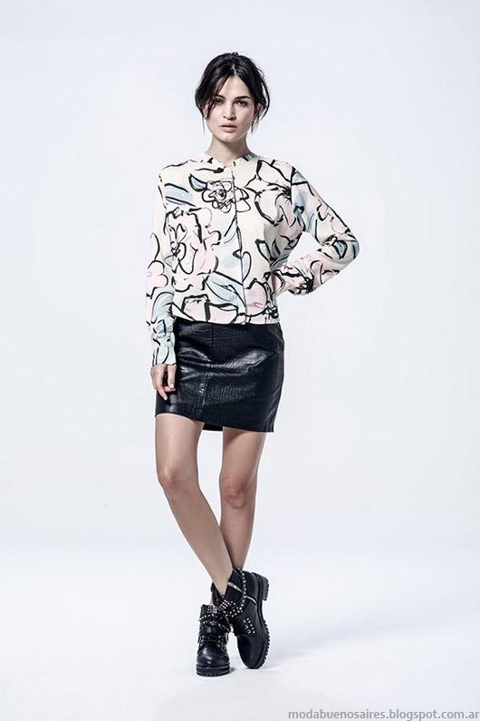 Sacos otoño invierno 2015 moda Melocotón.