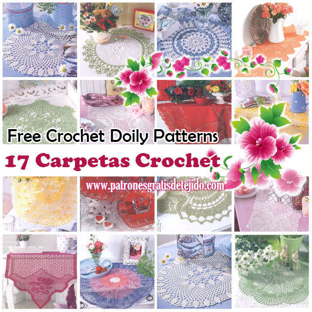 Free Crochet Thread Patterns and Project Ideas - The