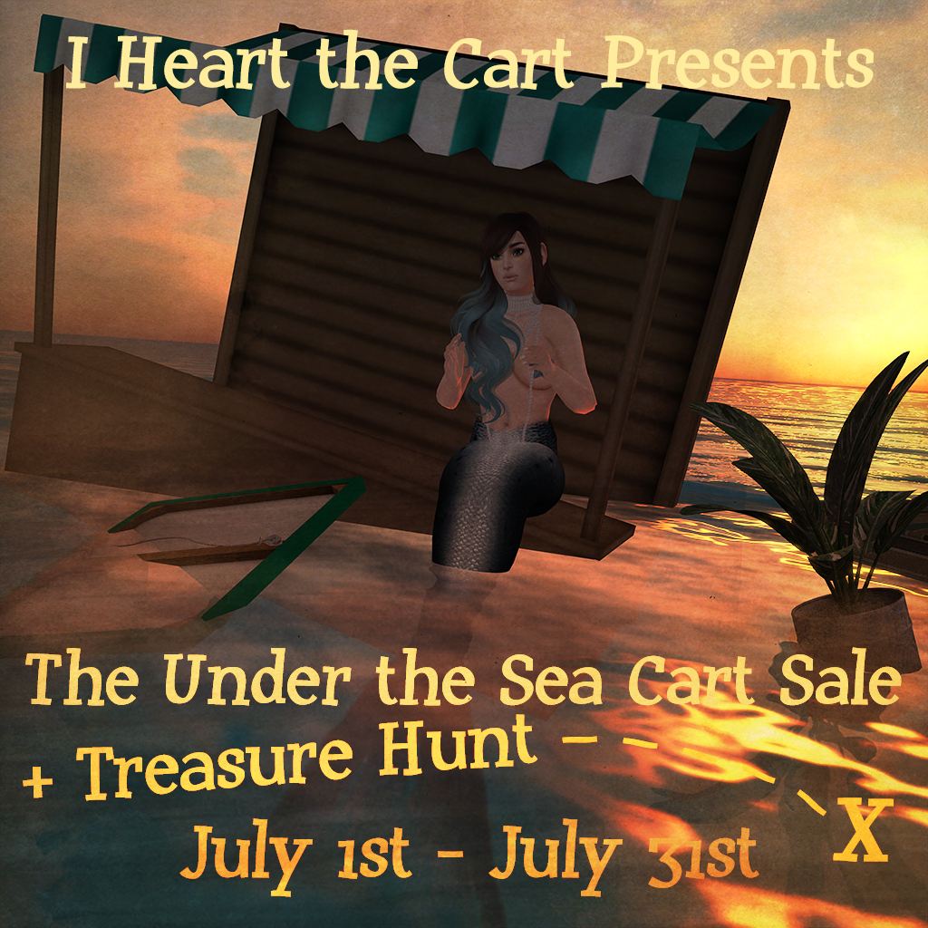 Under The Sea Cart Sale & Hunt