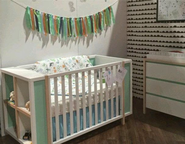 introducing the bingo collection by babyletto this stunning collection is available in 3 different color combos white with washed natural with mint babyletto furniture