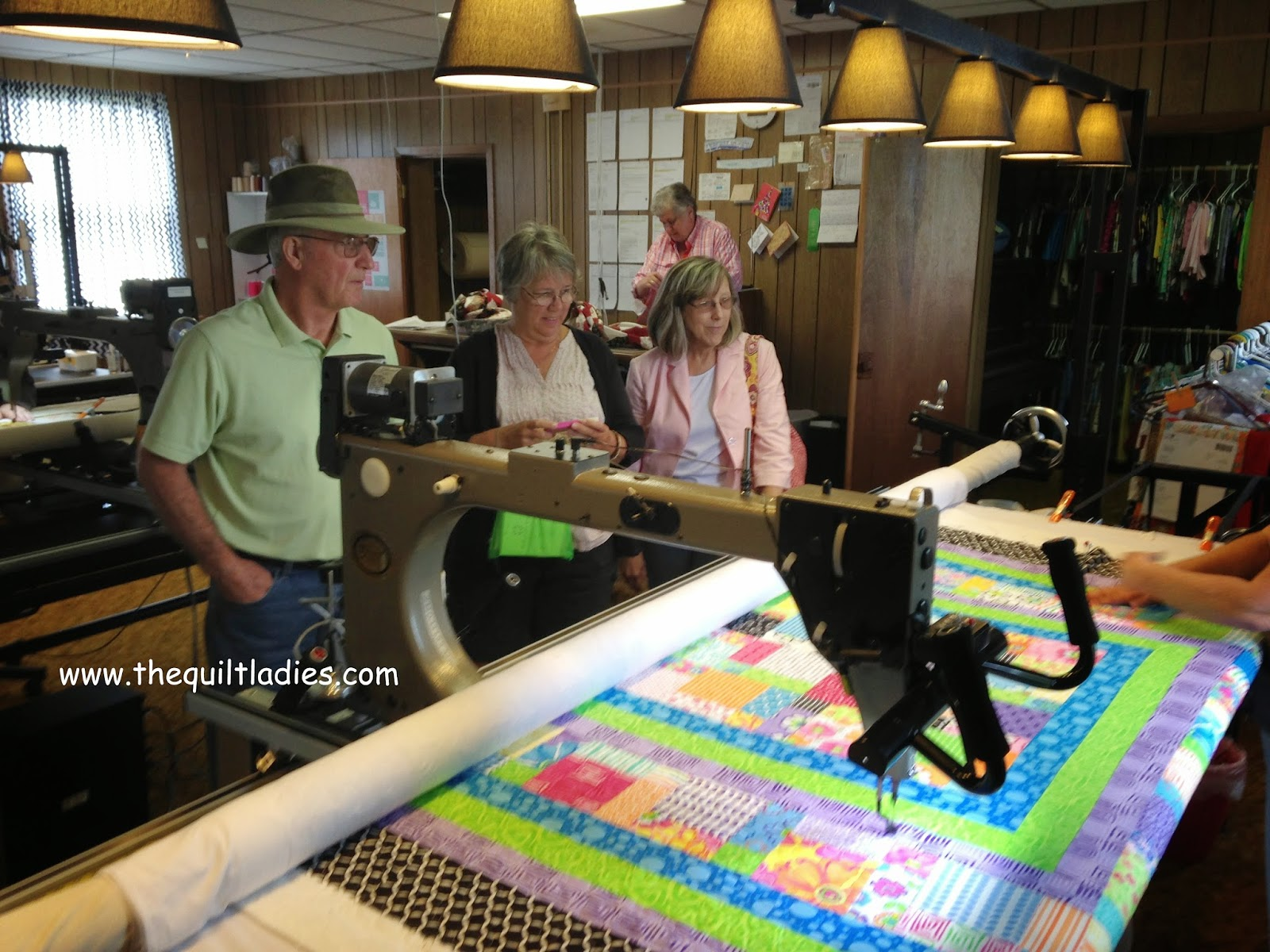 Missouri Star Quilt Co. quilting machines