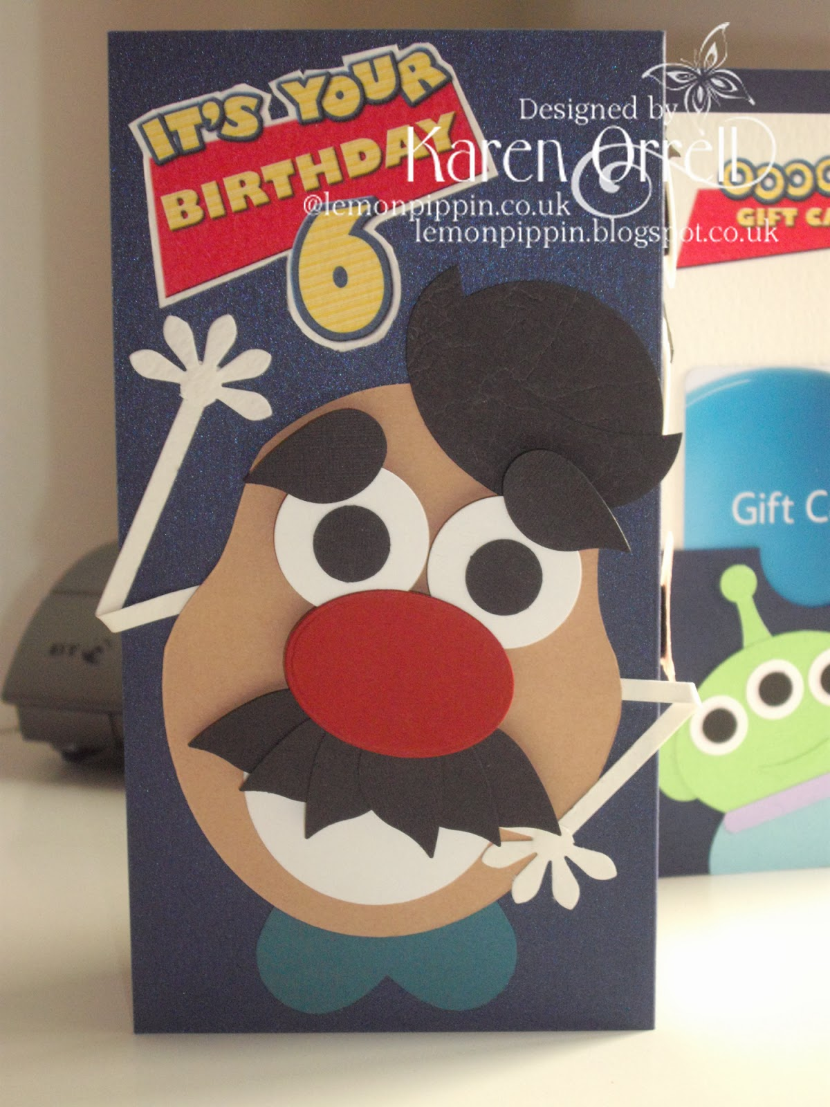 lemon pippin A Mr Potato Head Toy Story Birthday Card – Mr Potato Head Birthday Card
