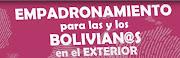 Empadronamiento Electoral Biometrico para l@s Bolivianos en el Exterior