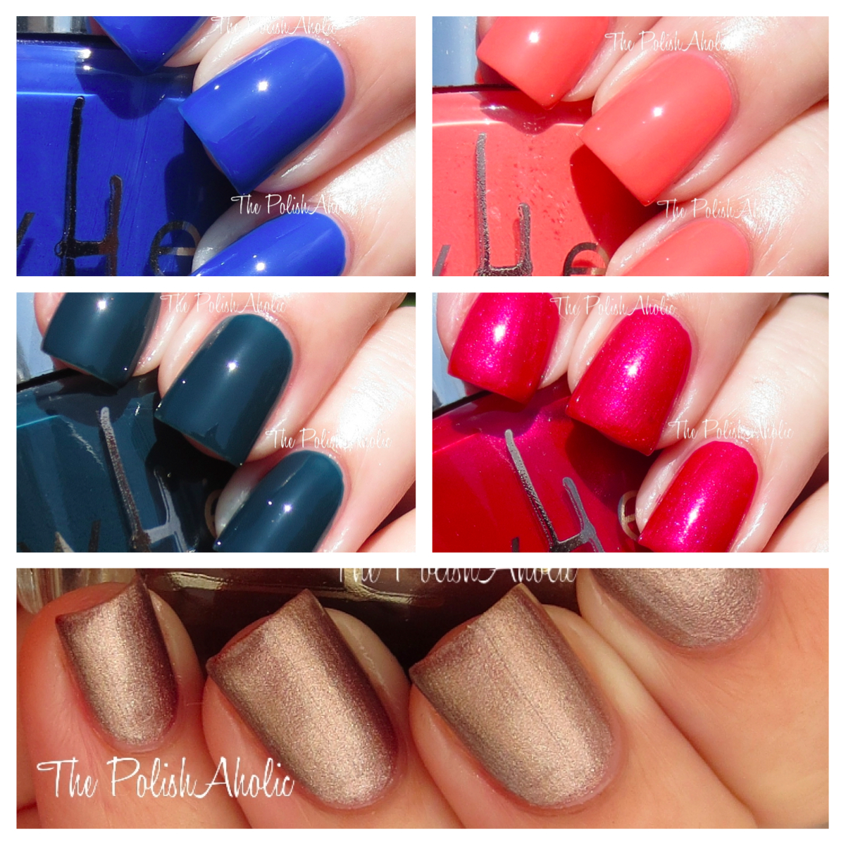 The PolishAholic: wHet Nail Lacquer Swatches
