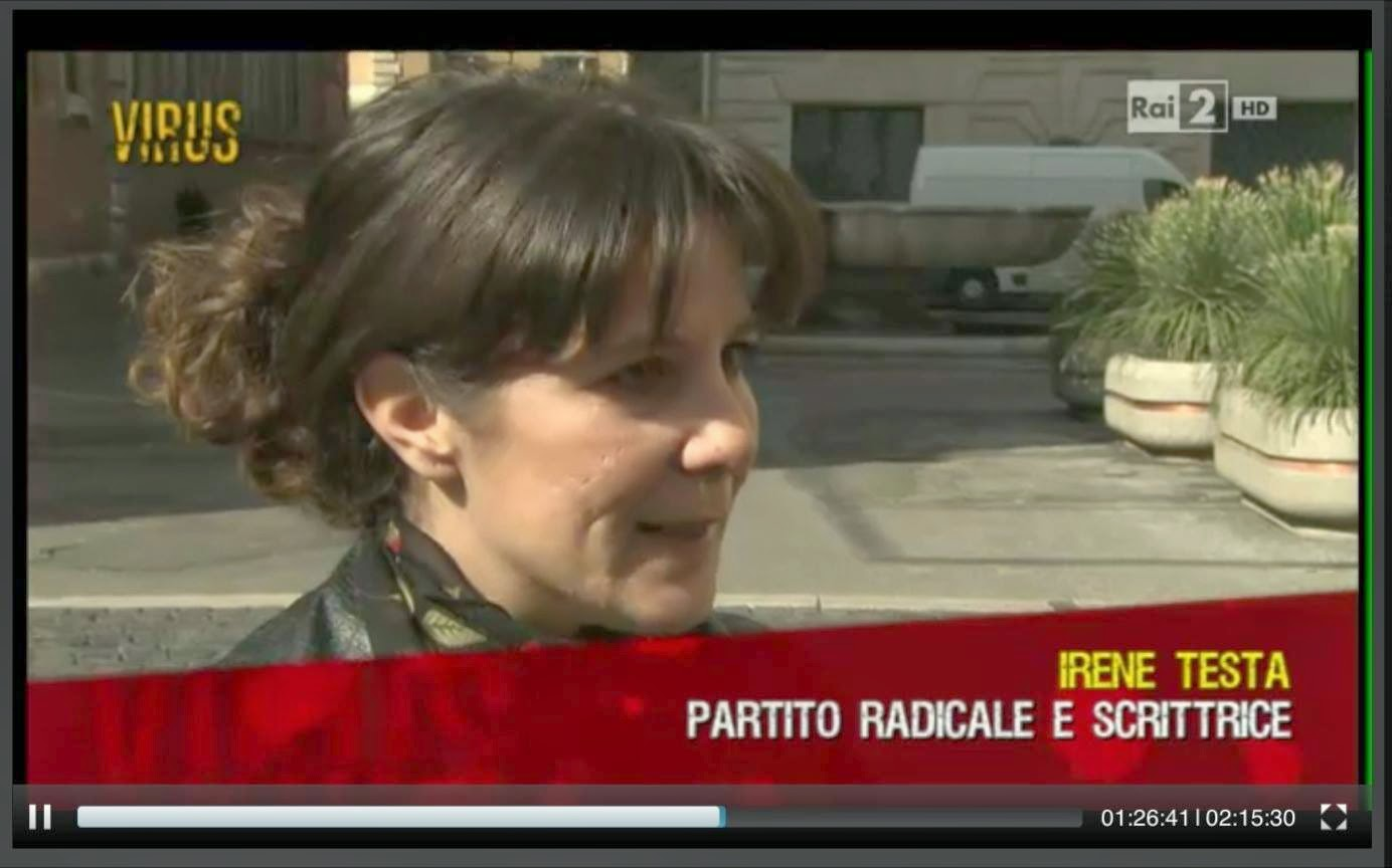 """Parcheggio Palazzo Spada - Virus Rai"""" con Nicola Porro 14/03/14"""