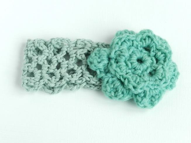 Portrait Fhoto Baby Girl Crochet Headbands