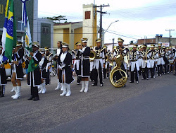 Desfile Cívico da escola Luis Rodolfo de Caetés I