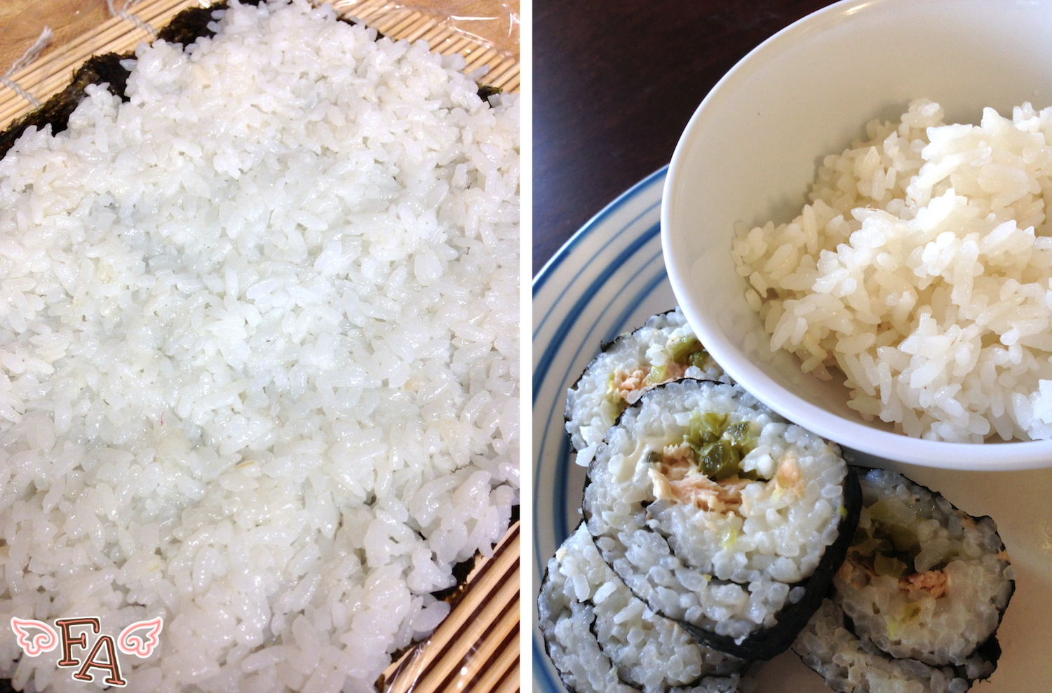 how to cook shushi rice by rice cooket