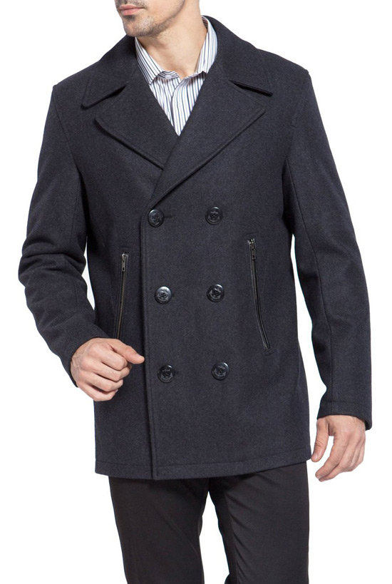 How to Wear a Pea Coat for Men - The Trend Spotter
