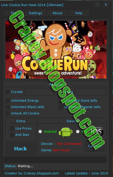 Line Cookie Run Cheat