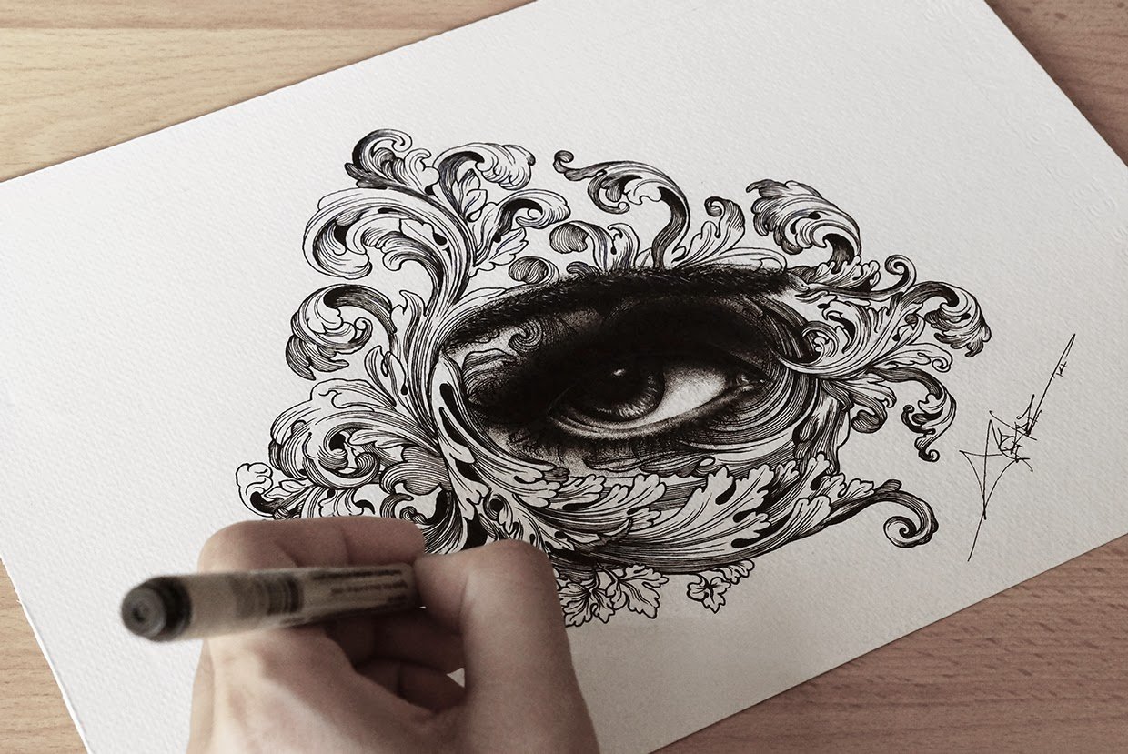 10-Magaicl-Spider-Money-Game-of-Thrones-Drawings-and-Detailed-Illustrations-www-designstack-co