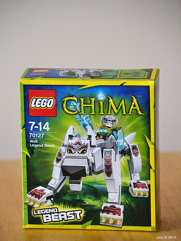 lego chima legend beast wolf - box design