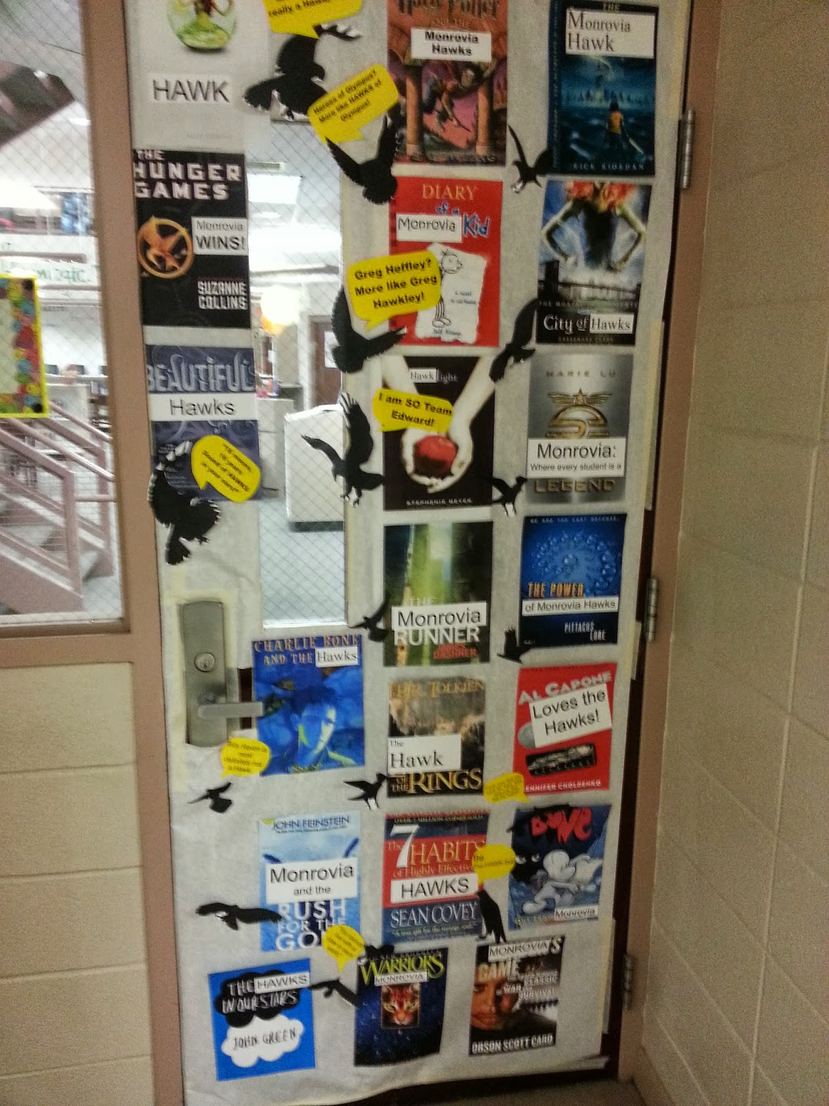 Lexie the librarian spirit week special edition door for 7 habits decorations