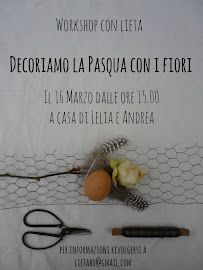 Workshop Decoriamo la Pasqua con i fiori