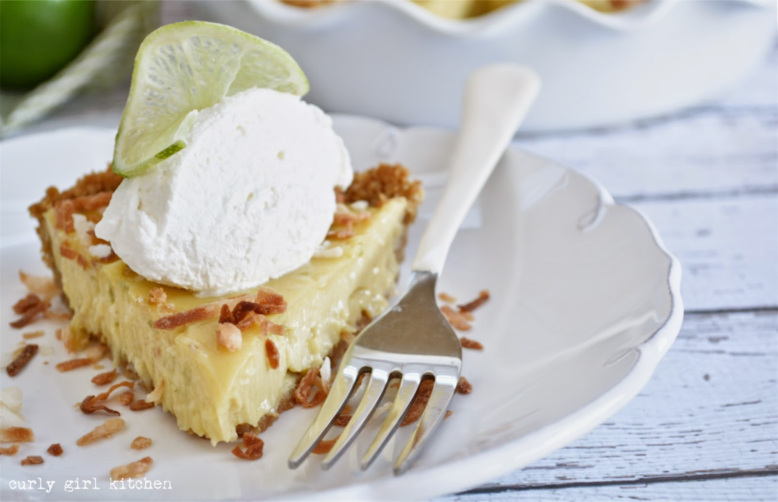 Curly Girl Kitchen: Coconut Crunch Key Lime Pie and a Key Lime Pie ...