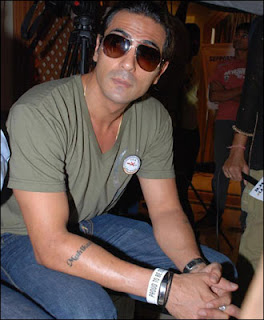Bollywood Actor Arjun Rampal Arm Tattoo Design