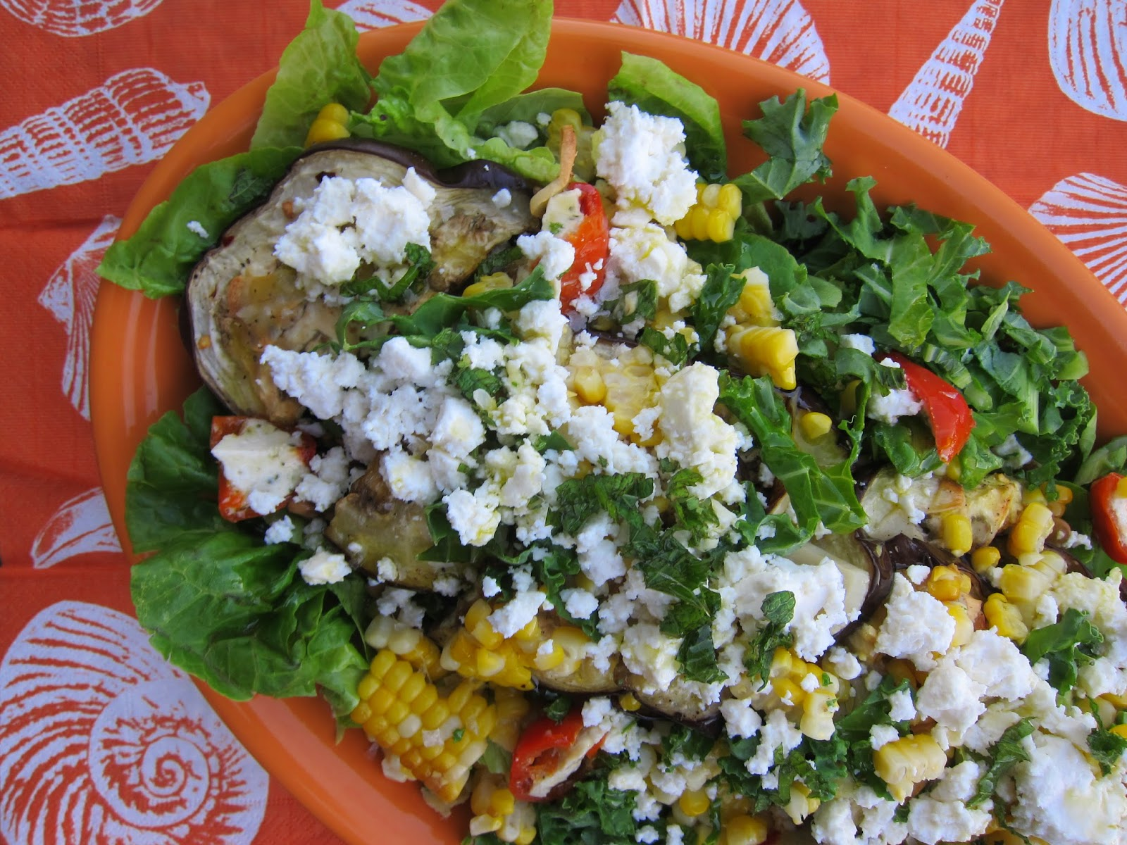 Grilled Banana Pepper And Feta Salad Recipes — Dishmaps