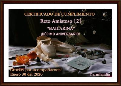 Certificado R.A. nº 121