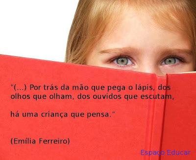 Frases e citações  de Emília Ferreiro