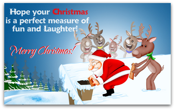E-Cards n Greetings: Funny Christmas Card