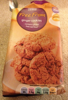 tesco gluten free ginger cookies