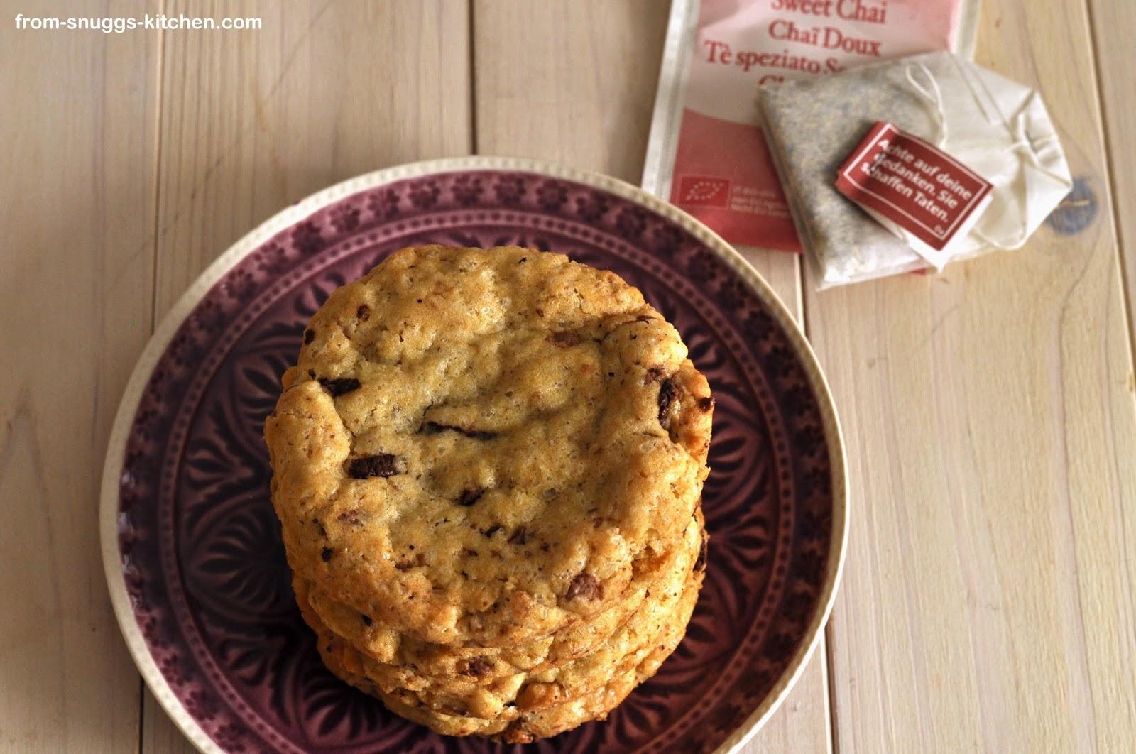 Chai Espresso Cookies