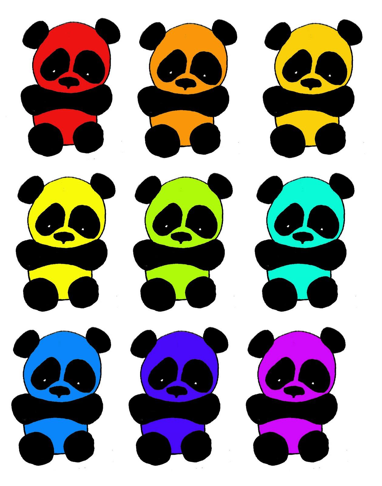 Be a panda - Image de panda a imprimer ...
