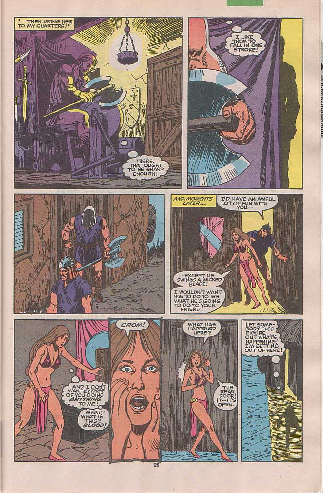 Conan the Barbarian (1970) Issue #236 #248 - English 21