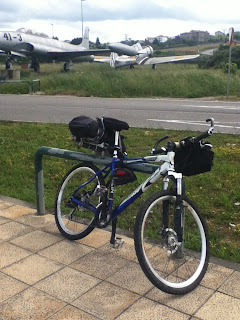 bici all'aeroporto