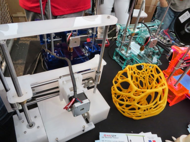 oneup 3d printer