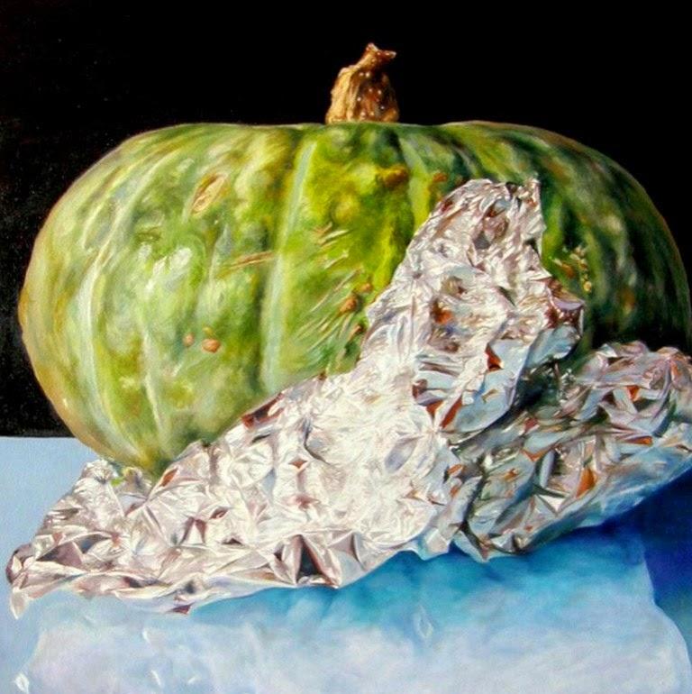 Bodegones Realistas del PintorBernardo Ariatta, Nació en 1966, Novara