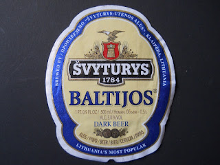 Lithuanian beer Svyturys Baltijos